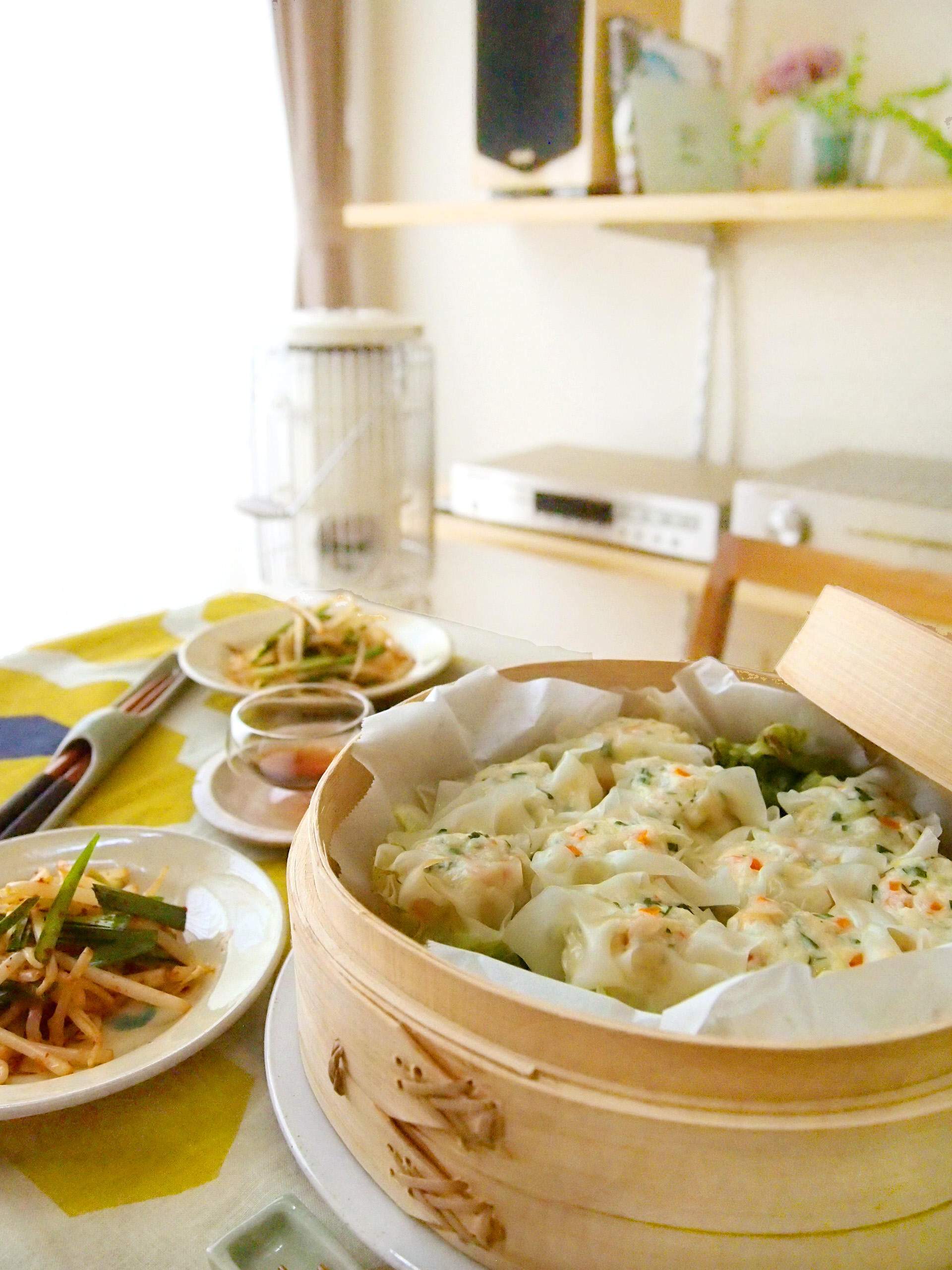 豆腐とナッツの焼売