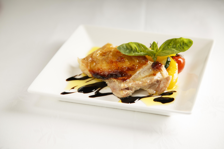 鶏もも肉と夏野菜の塩麹ロースト