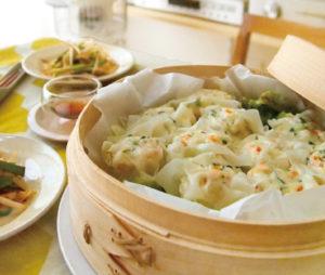 豆腐とナッツのシュウマイ