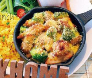 チキンとポテトのにんにくマヨネーズ焼き♪