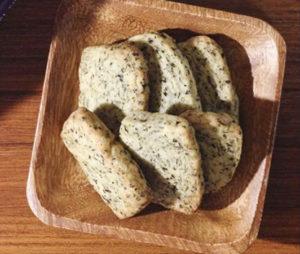 バター不使用*紅茶のアイスボックスクッキー